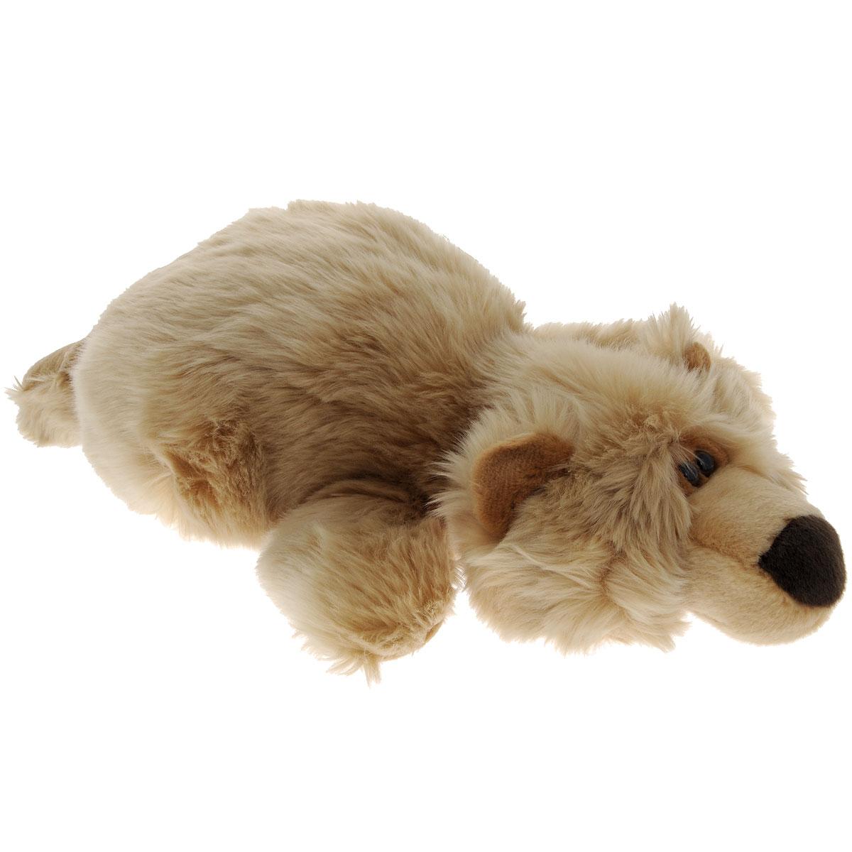 Мягкая игрушка Gulliver Мишка лежачий, 40 см18-3304Мягкая игрушка Gulliver Мишка лежачий изготовлена из приятного на ощупь искусственного меха и набита легким синтепоном. Мягкие игрушки Gulliver действуют позитивно на растущий детский организм, обучая ласке и доброте, улучшают настроение ребенка, развивают тактильную чувствительность, стимулируют зрительное восприятие, хватательные рефлексы и моторику рук. Как материал, так и набивка, с использованием которых изготовлены мягкие игрушки, высокого качества и безопасны для детей. Продукция сертифицирована, экологически безопасна для ребенка, использованные красители не токсичны и гипоаллергенны.