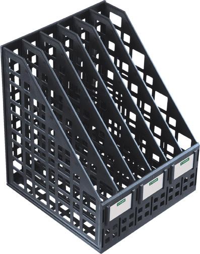 Лоток для бумаг вертикальный Стамм, 7 секций, цвет: черный. ЛТ87ЛТ87Лоток для бумаг Стамм выполнен в современном элегантном дизайне из высококачественного пластика с полированной гладкой поверхностью. Лоток состоит из основания, передней и задней стойки, боковых стенок (7 шт), на рабочем столе устанавливается вертикально. Легко собирается и разбирается, имеет шесть отделений для листов формата А4 и три этикетки-наклейки. С лотком для бумаг Стамм у вас больше не возникнут сложности с поддержанием порядка на столе!