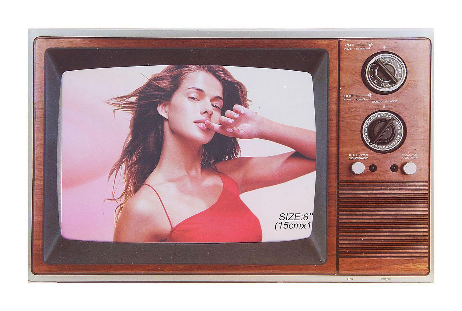 "Фоторамка Sima-land ""Старый телевизор 2"", 10 х 15 см"
