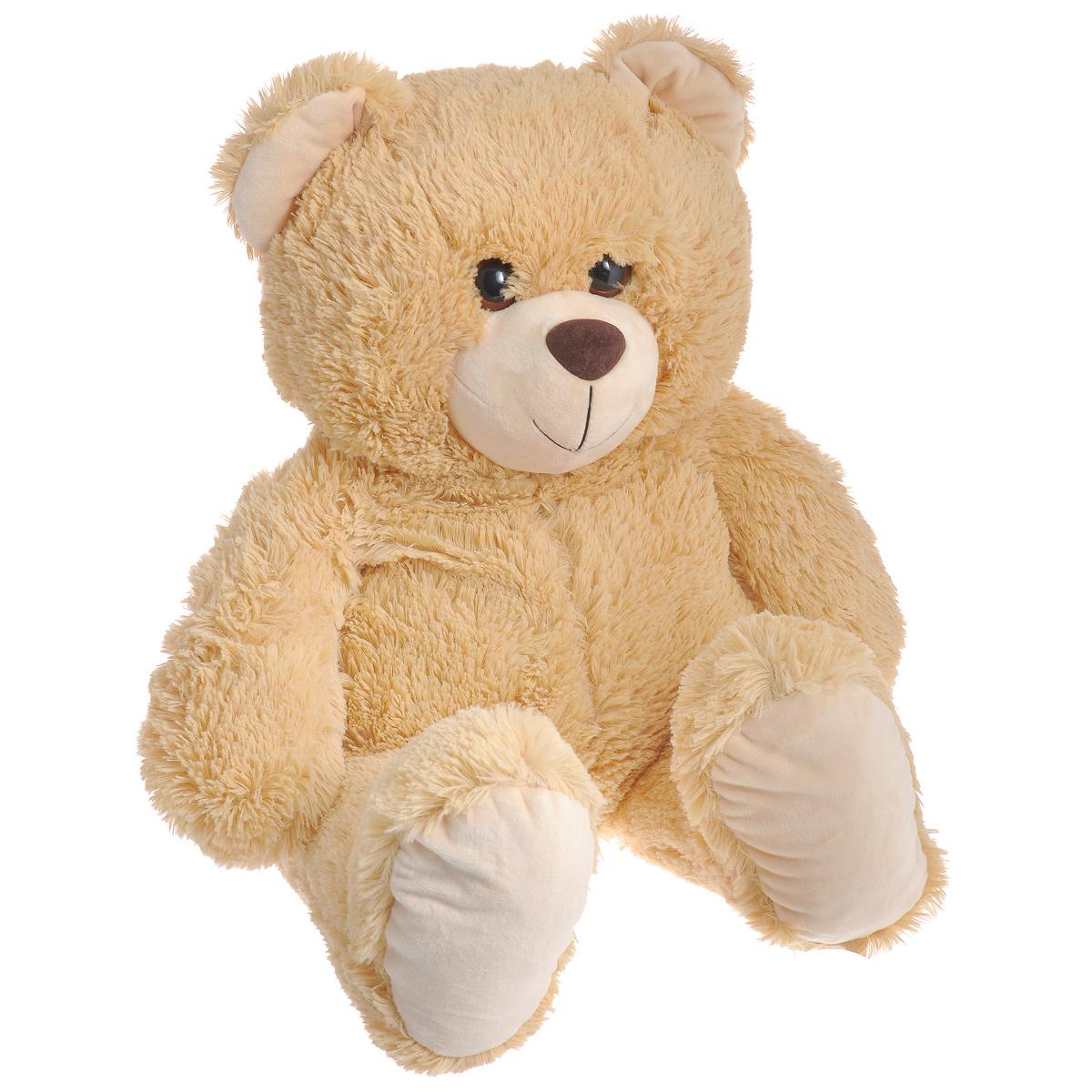 Мягкая игрушка СмолТойс Медведь, 64 см1137/БЖСимпатичная мягкая игрушка СмолТойс Медведь не оставит равнодушным ни ребенка, ни взрослого и вызовет улыбку у каждого, кто его увидит. Необычайно мягкий, он принесет радость и подарит своему обладателю мгновения нежных объятий и приятных воспоминаний. Игрушка удивительно приятна на ощупь, а специальные гранулы, используемые при ее набивке, способствуют развитию мелкой моторики рук малыша. Мягкая игрушка может стать милым подарком, а может быть и лучшим другом на все времена.