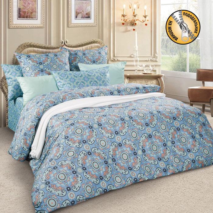 Комплект белья Letto, евро, наволочки 70х70, цвет: голубой. sm60-6sm60-6Спокойная классика в сатиновом исполнении - залог комфорта и гармонии цвета в вашей спальни. Дополните свою спальню актуальным принтом от европейских дизайнеров! Это отличный подарок любителям модных трендов в цвете и дизайне. Комплект выполнен из сатина, который заслужено считается благородной тканью для постельного белья. Сатину свойственна практичность, долговечность, мягкость и изысканный блеск, такая ткань прекрасно впитывает влагу во время сна, комфортна на ощупь и не требует особого ухода. Серия Letto Сатин – это современные дизайны в европейской стилистике, которые прекрасно дополнят Вашу спальню. Обращаем внимание, что наволочки могут отличаться от представленных на фотографии. Также может отличаться и оттенок комплекта из-за разницы в цветопередаче мониторов.