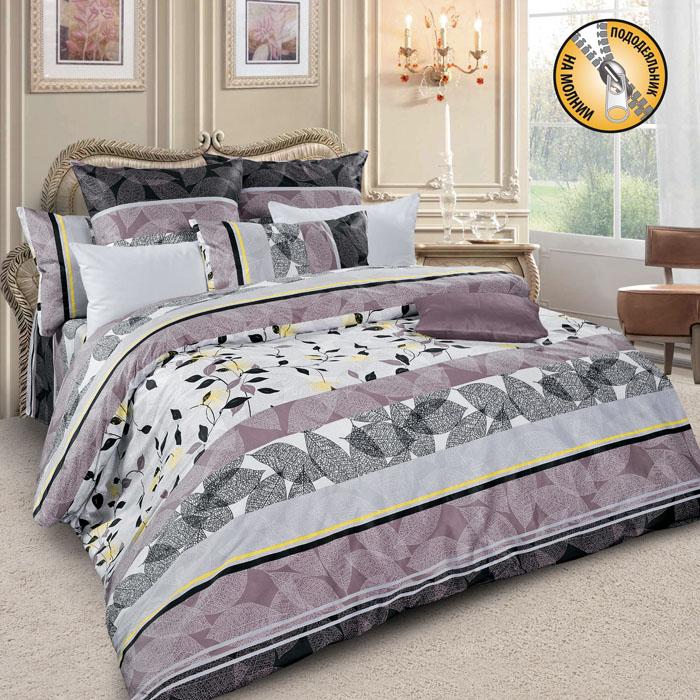 Комплект белья Letto, 2-спальный, наволочки 70х70, цвет: серый, сиреневый, черный . sm39-4sm39-4Спокойная классика в сатиновом исполнении - залог комфорта и гармонии цвета в вашей спальни. Дополните свою спальню актуальным принтом от европейских дизайнеров! Это отличный подарок любителям модных трендов в цвете и дизайне. Комплект выполнен из сатина, который заслужено считается благородной тканью для постельного белья. Сатину свойственна практичность, долговечность, мягкость и изысканный блеск, такая ткань прекрасно впитывает влагу во время сна, комфортна на ощупь и не требует особого ухода. Серия Letto Сатин – это современные дизайны в европейской стилистике, которые прекрасно дополнят Вашу спальню. Обращаем внимание, что наволочки могут отличаться от представленных на фотографии. Также может отличаться и оттенок комплекта из-за разницы в цветопередаче мониторов.