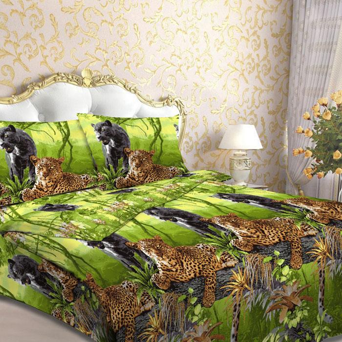 Комплект белья Letto, 1,5-спальный, наволочки 70х70, цвет: зеленый. B17-3B17-3Серия «Традиция» от Letto – это возможность купить оптом недорогое постельное белье, выполненной из классической российской бязи, знакомой многим домохозяйка. Не смотря на то, что на смену бязи пришли более комфортные ткани для постельного белья, такие как сатин и перкаль, бязь продолжает оставаться одним из самых востребованных продуктов на текстильном рынке России, благодаря своим потребительским свойствам и доступной цене. Для производства серии «Традиция» используется российская бязь, плотностью 125гр/м, с применением устойчивых импортных красителей и печати с новомодным эффектом 3D. Коллекция отшивается в традиционных размерах 1.5-cп, 2,0–сп. и евро размере с нав-ками 70*70.