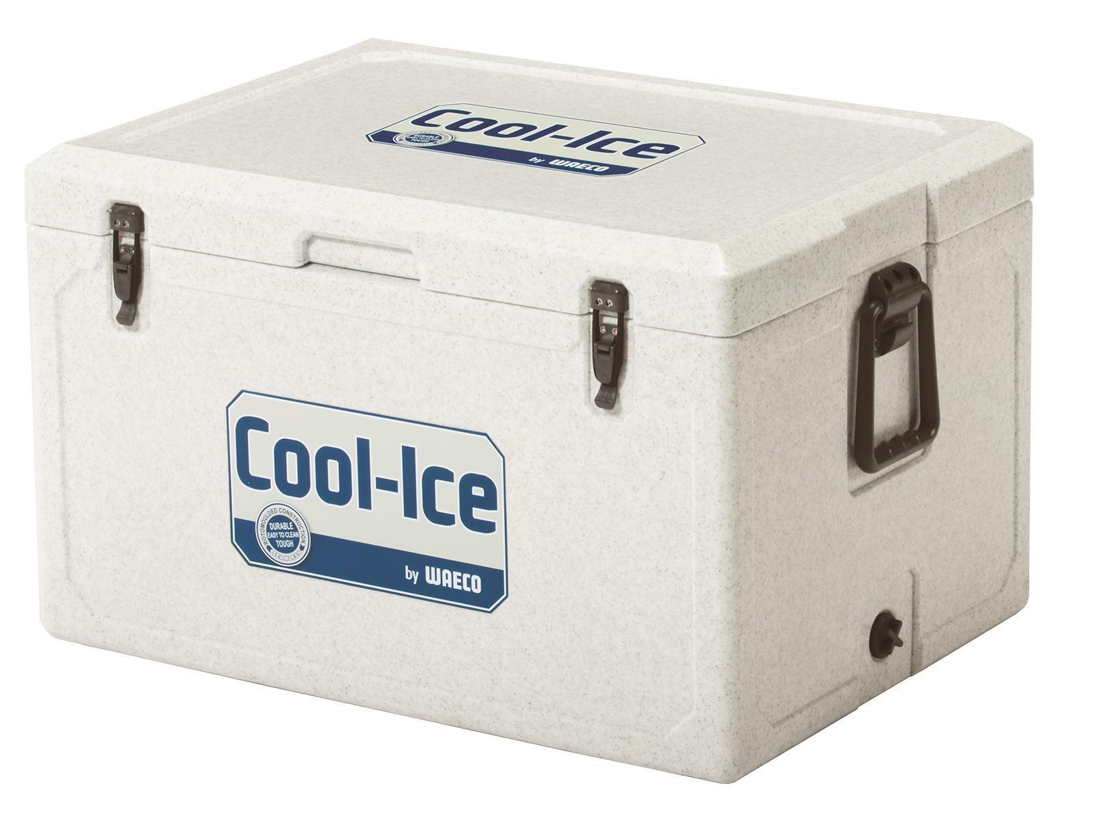 WAECO Cool-Ice WCI-70 изотермический контейнер, 68 лWCI-70Высокая температура окружающей среды, неровные поверхности, грязь и сильные вибрации? С этим легко справятся новый непобедимый термоконтейнер для льда WAECO Cool-Ice WCI-70. Оснащенный чрезвычайно эффективной и прочной изоляцией, он может продержать ваши продукты в холодном виде до 10 дней Все детали бесшовного термоконтейнера WAECO Cool-Ice WCI-70 сделаны из ударопрочного пластика , который можно использовать в самых экстремальных условиях