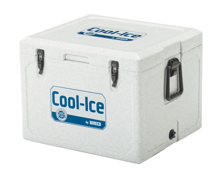 WAECO Cool-Ice WCI-55 изотермический контейнер, 55 лWCI-55Высокая температура окружающей среды, неровные поверхности, грязь и сильные вибрации? С этим легко справятся новый непобедимый термоконтейнер для льда WAECO Cool-Ice WCI-55. Оснащенный чрезвычайно эффективной и прочной изоляцией, он может продержать ваши продукты в холодном виде до 10 дней Все детали бесшовного термоконтейнера WAECO Cool-Ice WCI-55 сделаны из ударопрочного пластика , который можно использовать в самых экстремальных условиях