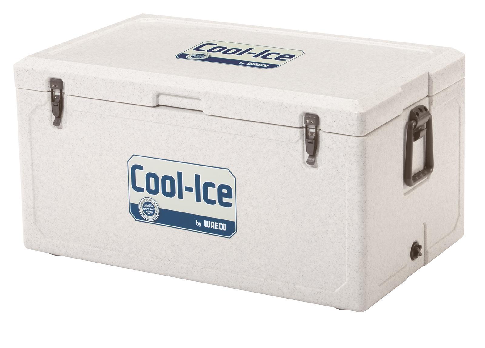 WAECO Cool-Ice WCI-85 изотермический контейнер, 86 лWCI-85Высокая температура окружающей среды, неровные поверхности, грязь и сильные вибрации? С этим легко справятся новый непобедимый термоконтейнер для льда WAECO Cool-Ice WCI-85. Оснащенный чрезвычайно эффективной и прочной изоляцией, он может продержать ваши продукты в холодном виде до 10 дней Все детали бесшовного термоконтейнера WAECO Cool-Ice WCI-85 сделаны из ударопрочного пластика , который можно использовать в самых экстремальных условиях