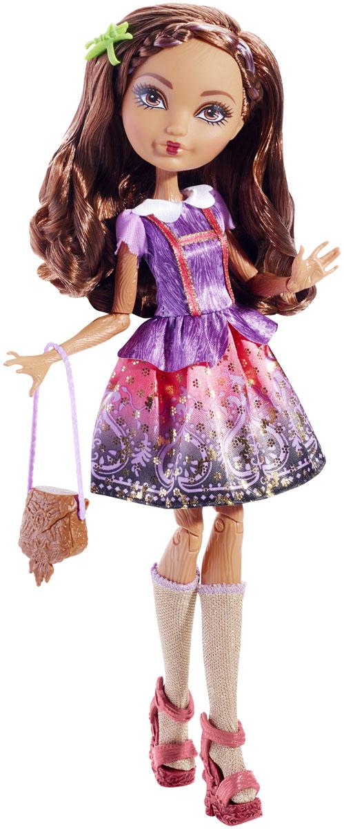 Ever After High Кукла Отступники Кедра ВудBBD41_BDB11Кукла Ever After High Кедра Вуд (Cedar Wood) привлечет внимание вашей маленькой любительницы сказок и волшебства. Она выполнена в виде персонажа мультфильма Ever After High (Школа Долго и счастливо) Кедры Вуд - дочери Пиноккио. Девочка с длинными темными волосами и смуглой кожей одета в очаровательное платье с пышной юбкой. Голову Кедры украшает заколка в виде сверчка. На ее ногах - блестящие гольфы с сиреневыми атласными лентами и босоножки на высокой деревянной платформе. В комплект с куклой входит сумочка, расческа в виде ключа, подставка, а также история персонажа. Не упустите возможность переписать историю вместе с учениками школы Ever After - детьми персонажей известных сказок, которым предстоит решить, следовать ли судьбе своих родителей или изменить то, что им предначертано. Отступники - персонажи-мечтатели, верящие, что их судьбы, описанные в сказках, можно изменить!