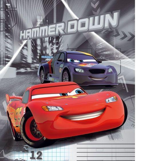 Cars Набор тетрадей в линейку, 12 листов, формат А5, 10 шт106326