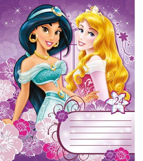 Princess Набор тетрадей в линейку, 24 листа, формат А5, 10 шт