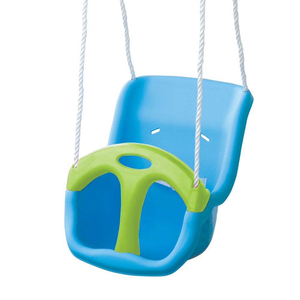 PalPlay Качели подвесные пластик372Качели подвесные - необходимая вещь для каждого ребенка. Качели имеют удобные крепления, позволяющие их устанавливать как дома так и на природе. Удобное сидение обеспечивает полную безопасность для ребенка.