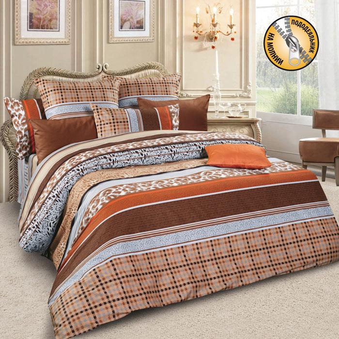 Комплект белья Letto, 1,5-спальный, наволочки 70х70, цвет: коричневый. sm56-3sm56-3Спокойная классика в сатиновом исполнении - залог комфорта и гармонии цвета в вашей спальни. Дополните свою спальню актуальным принтом от европейских дизайнеров! Это отличный подарок любителям модных трендов в цвете и дизайне. Комплект выполнен из сатина, который заслужено считается благородной тканью для постельного белья. Сатину свойственна практичность, долговечность, мягкость и изысканный блеск, такая ткань прекрасно впитывает влагу во время сна, комфортна на ощупь и не требует особого ухода. Серия Letto Сатин – это современные дизайны в европейской стилистике, которые прекрасно дополнят Вашу спальню. Обращаем внимание, что наволочки могут отличаться от представленных на фотографии. Также может отличаться и оттенок комплекта из-за разницы в цветопередаче мониторов.