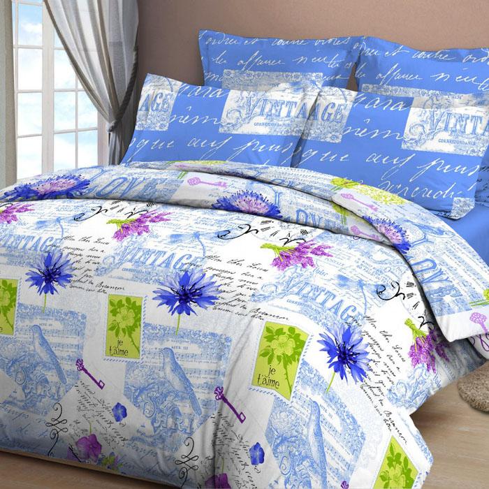 Комплект белья Letto, дуэт семейный, наволочки 70х70, цвет: голубой. B33-7B33-7Серия «Традиция» от Letto – это возможность купить оптом недорогое постельное белье, выполненной из классической российской бязи, знакомой многим домохозяйка. Не смотря на то, что на смену бязи пришли более комфортные ткани для постельного белья, такие как сатин и перкаль, бязь продолжает оставаться одним из самых востребованных продуктов на текстильном рынке России, благодаря своим потребительским свойствам и доступной цене. Для производства серии «Традиция» используется российская бязь, плотностью 125гр/м, с применением устойчивых импортных красителей и печати с новомодным эффектом 3D. Коллекция отшивается в традиционных размерах 1.5-cп, 2,0–сп. и евро размере с нав-ками 70*70.