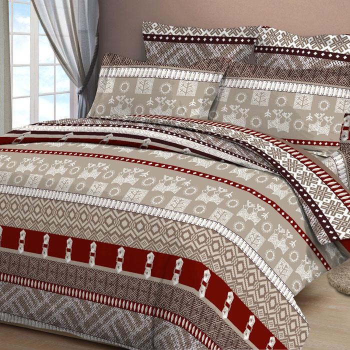 Комплект белья Letto, 1,5-спальный, наволочки 70х70, цвет: коричневый. B30-3B30-3Серия «Традиция» от Letto – это возможность купить оптом недорогое постельное белье, выполненной из классической российской бязи, знакомой многим домохозяйка. Не смотря на то, что на смену бязи пришли более комфортные ткани для постельного белья, такие как сатин и перкаль, бязь продолжает оставаться одним из самых востребованных продуктов на текстильном рынке России, благодаря своим потребительским свойствам и доступной цене. Для производства серии «Традиция» используется российская бязь, плотностью 125гр/м, с применением устойчивых импортных красителей и печати с новомодным эффектом 3D. Коллекция отшивается в традиционных размерах 1.5-cп, 2,0–сп. и евро размере с нав-ками 70*70.
