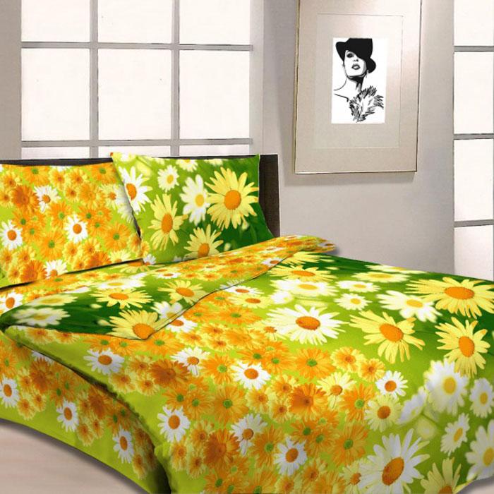 Комплект белья Letto, 1,5-спальный, наволочки 70х70, цвет: желтый. B05-3B05-3Серия «Традиция» от Letto – это возможность купить оптом недорогое постельное белье, выполненной из классической российской бязи, знакомой многим домохозяйка. Не смотря на то, что на смену бязи пришли более комфортные ткани для постельного белья, такие как сатин и перкаль, бязь продолжает оставаться одним из самых востребованных продуктов на текстильном рынке России, благодаря своим потребительским свойствам и доступной цене. Для производства серии «Традиция» используется российская бязь, плотностью 125гр/м, с применением устойчивых импортных красителей и печати с новомодным эффектом 3D. Коллекция отшивается в традиционных размерах 1.5-cп, 2,0–сп. и евро размере с нав-ками 70*70.