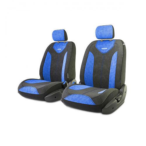 """Авточехлы Autoprofi """"Трансформер Comfort"""", цвет: черный, синий, 6 предметов TRS/COM-001 BK/BL"""