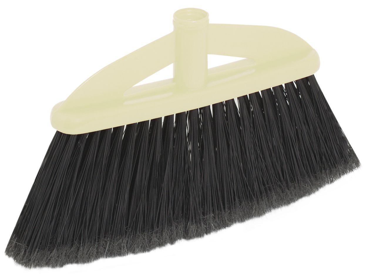 Щетка-насадка для пола Apex Basic. 11690-A11690-AЩетка Apex Basic с длинным ворсом, выполненная из пластика, предназначена для уборки в доме и на улице. Упругие и длинные волоски щетки-насадки не оставят от грязи и следа. Изогнутые под углом щетинки облегчат чистку углов помещения. Оригинальная, современная, щетка для швабры, которую можно подобрать к любому интерьеру, сделает уборку эффективнее и приятнее не вызывая усталости. Размер щетки: 23 см х 7 см. Длина ворса: 10,5 см. Материал: пластик, полихлорвинил.