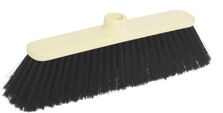 Щетка-насадка для пола Apex Basic. 11691-A11691-AЩетка Apex Basic с длинным ворсом, выполненная из пластика, предназначена для уборки в доме и на улице. Упругие и длинные волоски щетки-насадки не оставят от грязи и следа. Изогнутые под углом щетинки облегчат чистку углов помещения. Оригинальная, современная, щетка для швабры, которую можно подобрать к любому интерьеру, сделает уборку эффективнее и приятнее не вызывая усталости. Размер щетки: 27 см х 4,5 см. Длина ворса: 7,5 см. Материал: пластик, полихлорвинил.