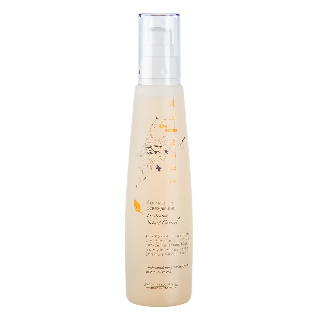 PREMIUM Homework Аромаспрей освежающий 225млГП040034Препарат обеспечивает выраженный освежающий эффект и дополнительную коррекцию проблем жирной кожи в течение дня. Благодаря совершенному механизму распыления, создает тончайшее водяное облако, нежно окутывающее кожу и не нарушающее макияж. Состав: вода очищенная, вода шунгитовая, кислота гликолевая, кислота яблочная, кислота лимонная, кислота молочная, натрия пирролидонкарбоксилат, пропиленгликоль, экстракт календулы, экстракт ромашки, экстракт тысячелистника, экстракт мяты, ПЭГ 40 гидрогенизированного касторового масла, ментил лактат, рапа, метилизотиазолинон, йодопропинилбутилкарбамат, отдушка, натрия гидроксид Показания к применению Уход за жирной кожей и жирной кожей, осложненной угревой сыпью, в т.ч. чувствительной, в течение дня ( в промежутках между утренним и вечерним уходом). Может наноситься на макияж. Особенно рекомендуется для применения в летний период. Что содержится в биоактивном составе? Экстракты календулы, ромашки, тысячелистника, мяты перечной Шунгитовая вода...