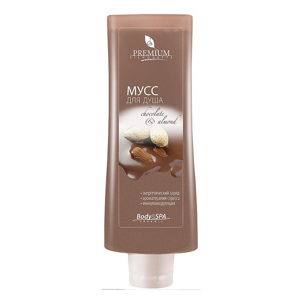 PREMIUM Silhouette Мусс для душа Chocolate&Almond, 200 млГП080008Гель-мусс с шоколадом и миндалем превращает очищение в изысканную аромацеремонию. Комплекс фосфолипидов, экстрактов плюща и бамбука восстанавливает минеральный баланс и метаболизм кожи. Какао-порошок оказывает мягкое абразивное действие, активизирует регенерацию тканей, дает коже мощный энергетический заряд. Мусс содержит настоящий какао-порошок, более 300 активных компонентов которого дают коже мощный энергетический заряд! Состав: вода очищенная, натрия лауретсульфат, вода шунгитовая, D.C. HWM 2220™ (дивинилдиметикон/ диметикон сополимер, С12-С13 парет-3, С12-С13 парет-23), кокамидопропилбетаин, натрия кокоамфоацетат, ПЭГ-40 гидрогенизированного касторового масла, Oronal LCG™ (натрия кокет сульфат, ПЭГ-40 глицерил кокоат), глицерин, ПЭГ-120 метил глюкозы диолеат, диэтаноламиды жирных кислот соевого масла, пантенол, линолеамидопропил ПГ-димоний хлорид фосфат диметикон, какао-порошок, рапа, отдушка, пропиленгликоль, экстракт плюща, экстракт бамбука, метилхлороизотиазолинон,...