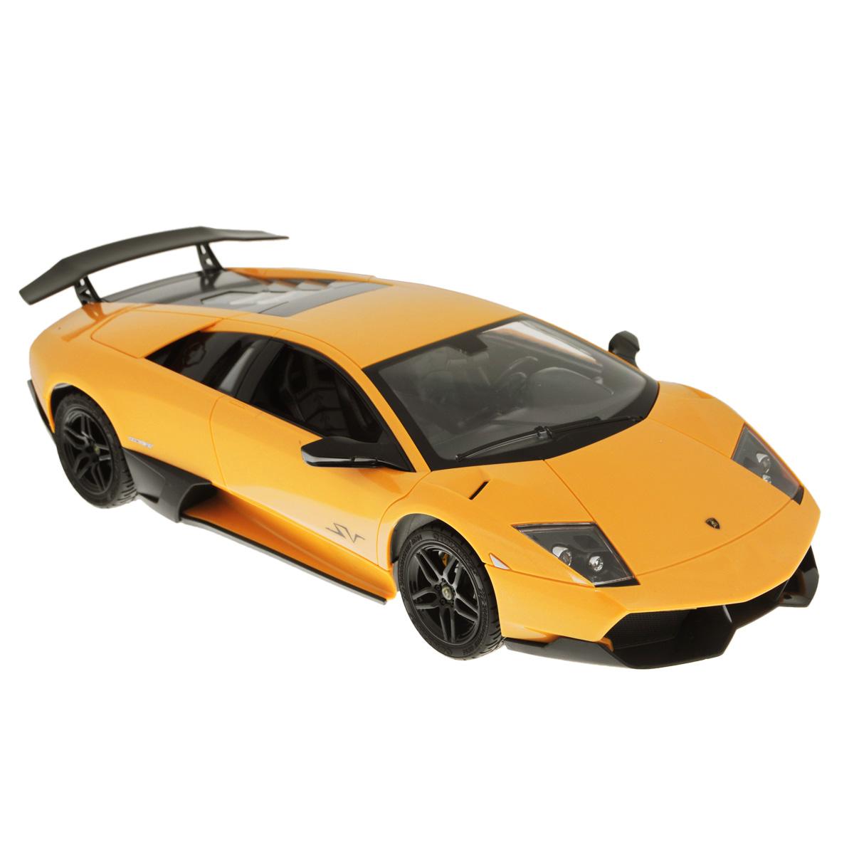 TopGear Радиоуправляемая модель Lamborghini Murcielago LP 670-4 цвет желтыйТ56682