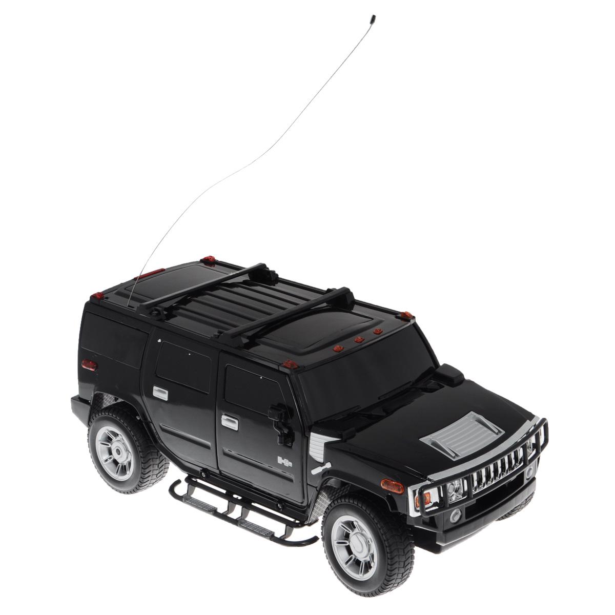 1TOY Радиоуправляемая модель Hummer H2 цвет черныйТ54267_черный