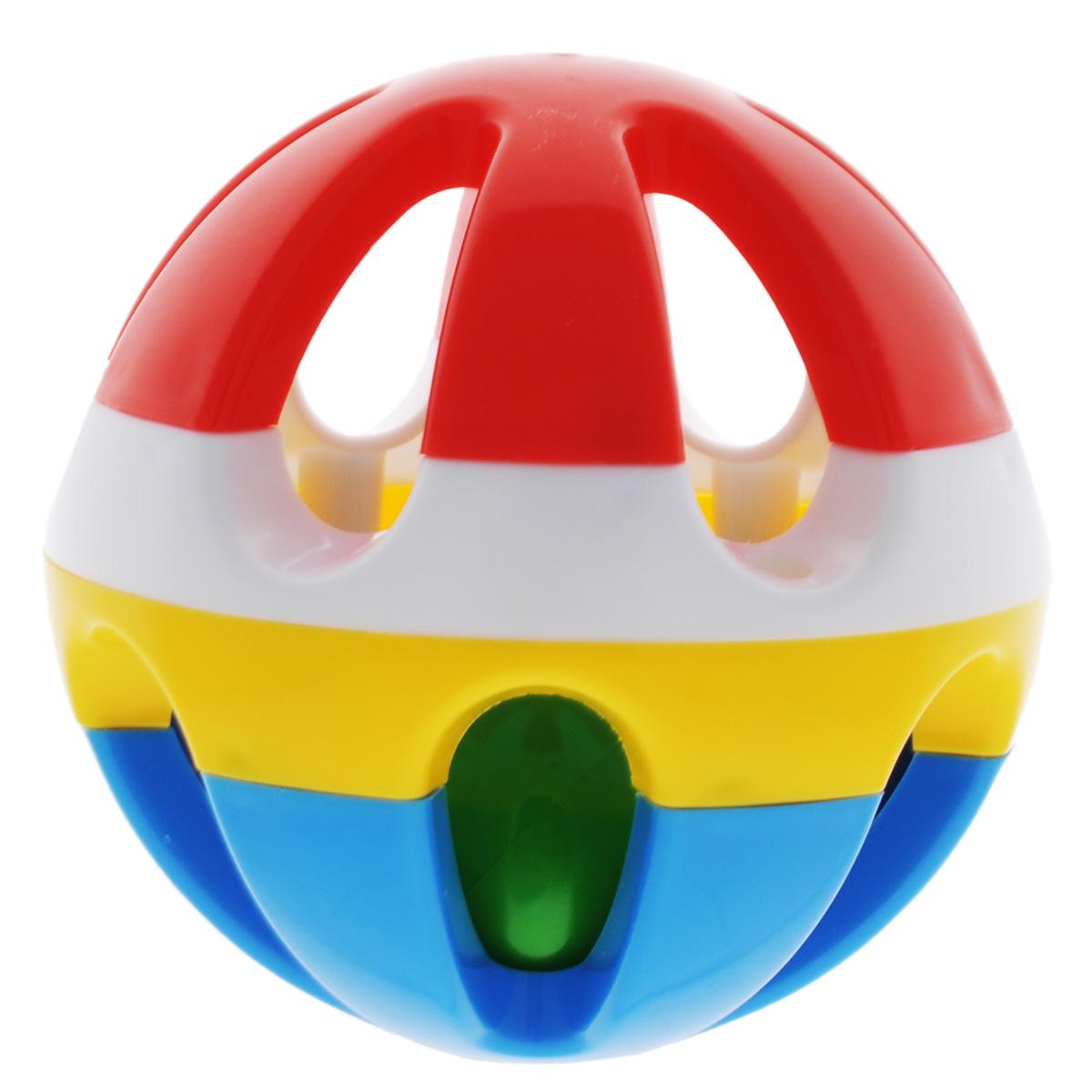 Погремушка Stellar Шар, 9 см, цвет: красный, белый, желтый, синий01506Погремушка Stellar Шар создана специально для самых маленьких. Игрушка выполнена из яркого полипропилена в виде шара с прорезями, внутри которого находится маленький шарик с гремящими при тряске гранулами. Игра предназначена для детей с первых дней жизни. Вначале ребенок будет рассматривать за движущимся шаром, а позже научится держать в руках погремушку и извлекать из нее звук. Яркие цвета развивают зрительное восприятие ребенка. УВАЖАЕМЫЕ КЛИЕНТЫ! Обращаем ваше внимание на ассортимент в цветовом дизайне товара. Поставка осуществляется в зависимости от наличия на складе.