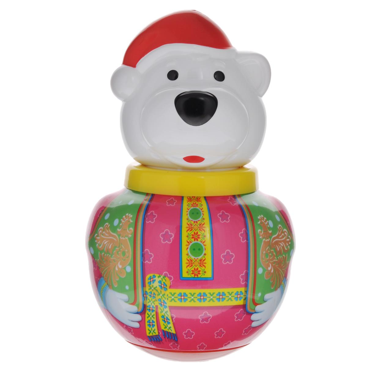 Неваляшка Stellar Белый медведь Борис, 16 см, в ассортименте01737Неваляшка Stellar Белый медведь Борис привлечет внимание вашего малыша и не позволит ему скучать. Игрушка выполнена из пластика в виде симпатичного медведя. Неваляшка всегда возвращается в вертикальное положение, забавно покачиваясь под приятный звук бубенчиков и развлекая малыша. Неваляшка развивает мелкую моторику, координацию, слух и цветовое восприятие. УВАЖАЕМЫЕ КЛИЕНТЫ! Обращаем ваше внимание на возможные изменения в дизайне игрушки.