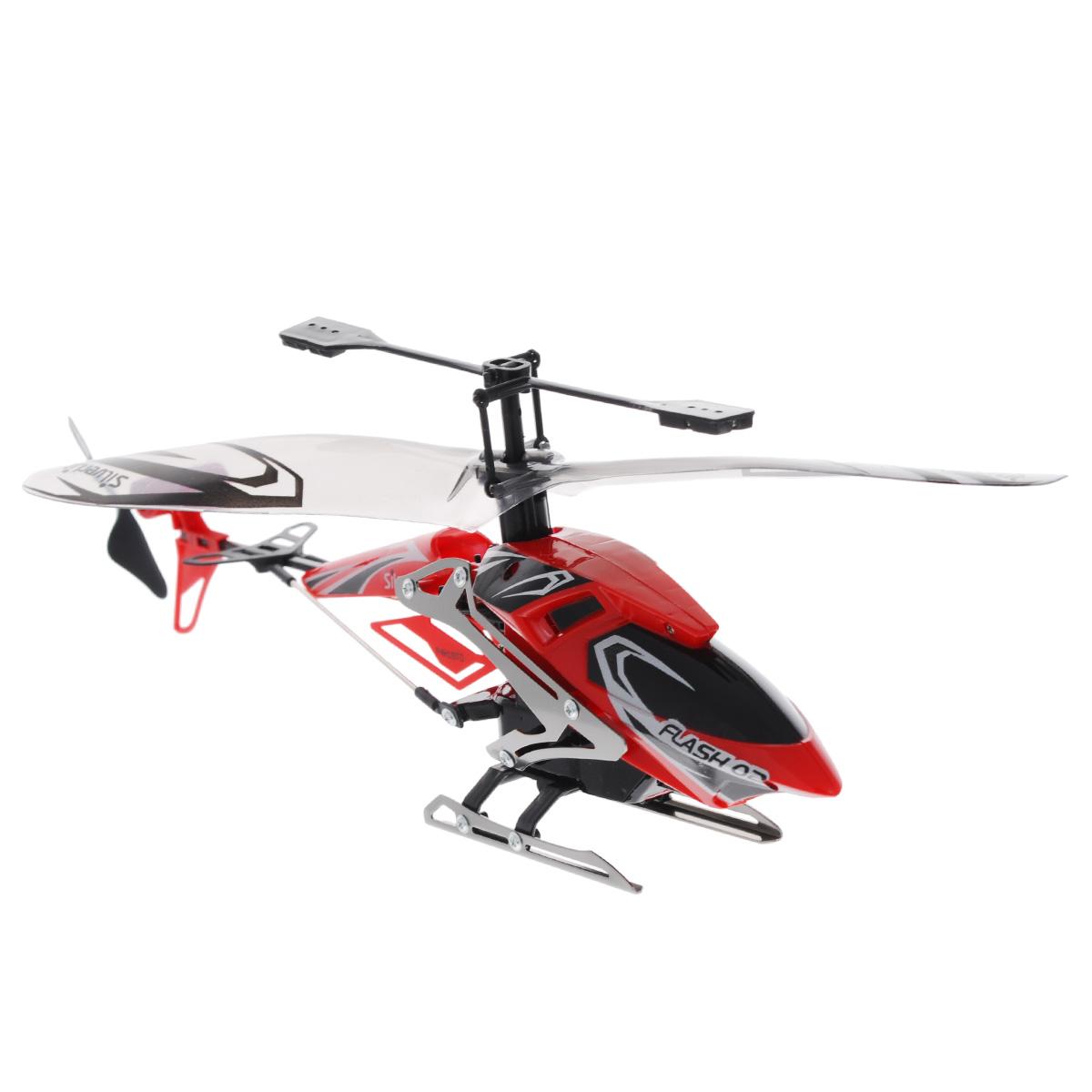 Silverlit Вертолет на радиоуправлении Штурмовик цвет красный84700Радиоуправляемая модель Silverlit Вертолет Штурмовик, выполненная из металла и пластика, удивит и порадует любого мальчика. Игрушка выполнена в виде вертолета, имеет очень точную детализацию и световые эффекты. Вертолет двигается вверх, вниз, вправо и влево, обладает автостабилизацией и высокоточным ускорением. Игрушка управляется с помощью дистанционного пульта с инфракрасным управлением, что позволяет играть только внутри помещения. Сверхточное цифровое пропорциональное трехканальное управление. Игрушкой очень легко управлять, вертолет послушно двигается в нужную сторону. Дети очень любят радиоуправляемые игрушки, ведь стоит только нажать на кнопку, как они буквально оживают, начинают двигаться и издавать характерные звуки. Не являются исключением и вертолеты на радиоуправлении - они еще интереснее, так как они не просто ездят, как обычные машины, а летают, парят над землей. Конечно, вертолетом управлять сложнее, чем автомобилем, так как необходимо научиться...
