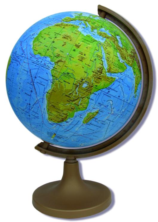 Глобус DMB, c физической картой мира, диаметр 22 см + Мини-энциклопедия Физическая география ЗемлиОСН1224100Физический глобус DMB, изготовленный из высококачественного прочного пластика, показывает географические особенности нашей планеты Земля: горы, леса, пустыни, долины. Изделие расположено на подставке. На нем отображены картографические линии: параллели и меридианы, линия перемены дат, особенности климата и растительности, рельефы морского дна и суши. Глобус с физической картой мира станет незаменимым атрибутом обучения не только школьника, но и студента. Названия стран на глобусе приведены на русском языке. Ничто так не обеспечивает всестороннего и детального изучения устройства мира в таком сжатом и объемном образе, как физический глобус. Сделайте первый шаг в стимулирование своего обучения! К глобусу прилагается мини-энциклопедия Физическая география Земли с кратким описанием важных географических объектов. Настольный глобус DMB станет оригинальным украшением рабочего стола или вашего кабинета. Это изысканная вещь для стильного интерьера,...