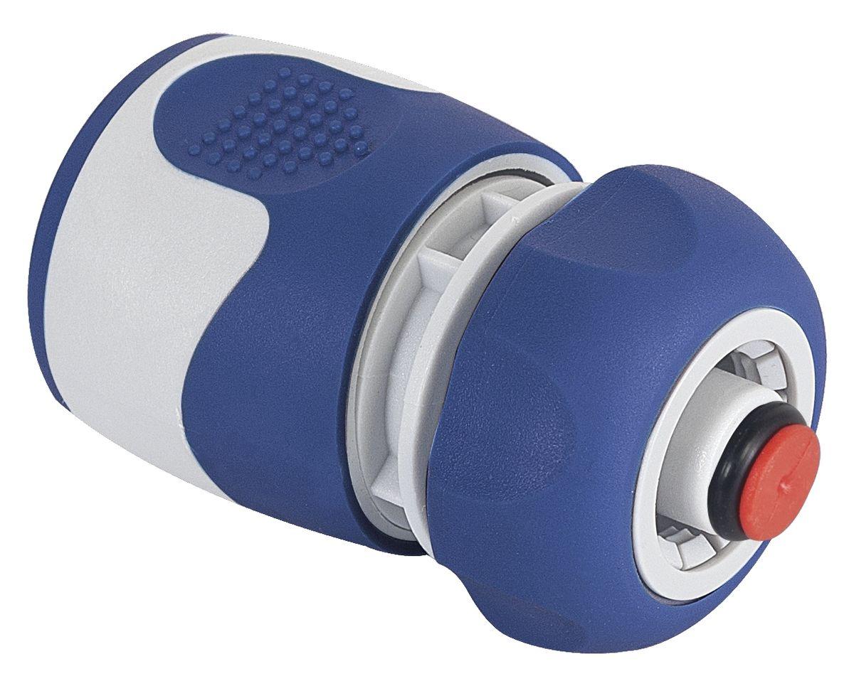 Коннектор Green Apple, с аквастопом, диаметр 1/2GWHC20-058Коннектор Green Apple, изготовленный из полипропилена, терморезины и ABS пластика, предназначен для надежного подключения насадок к шлангу. Благодаря функции аквастоп замену насадок можно производить без предварительного отключения напора воды. Длина коннектора: 7 см.