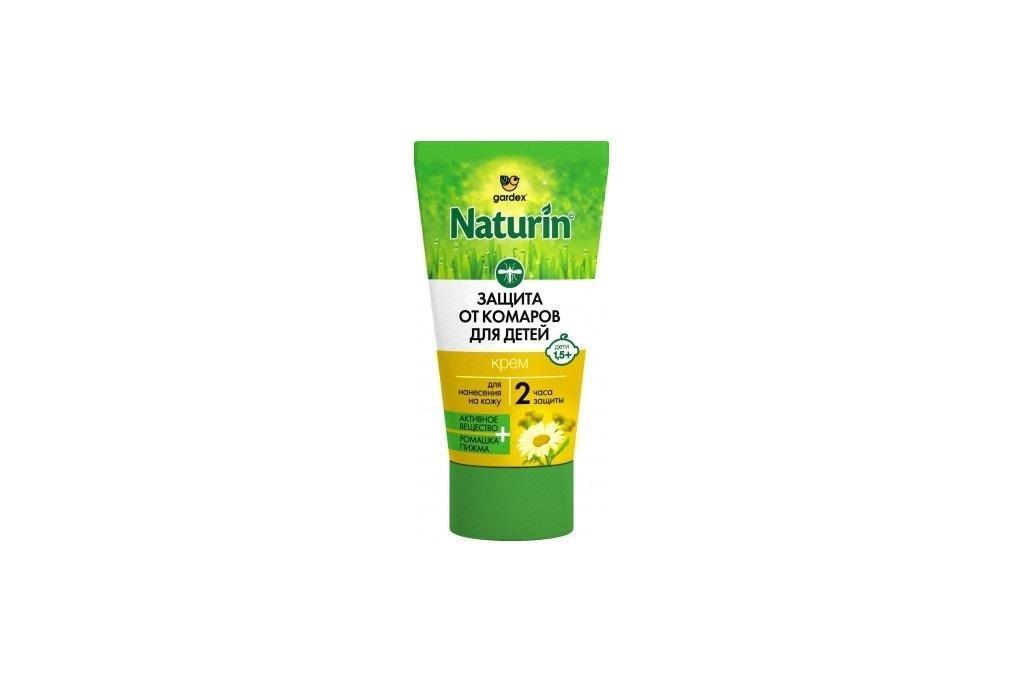 Gardex NATURIN Крем-гель от комаров детский 40мл