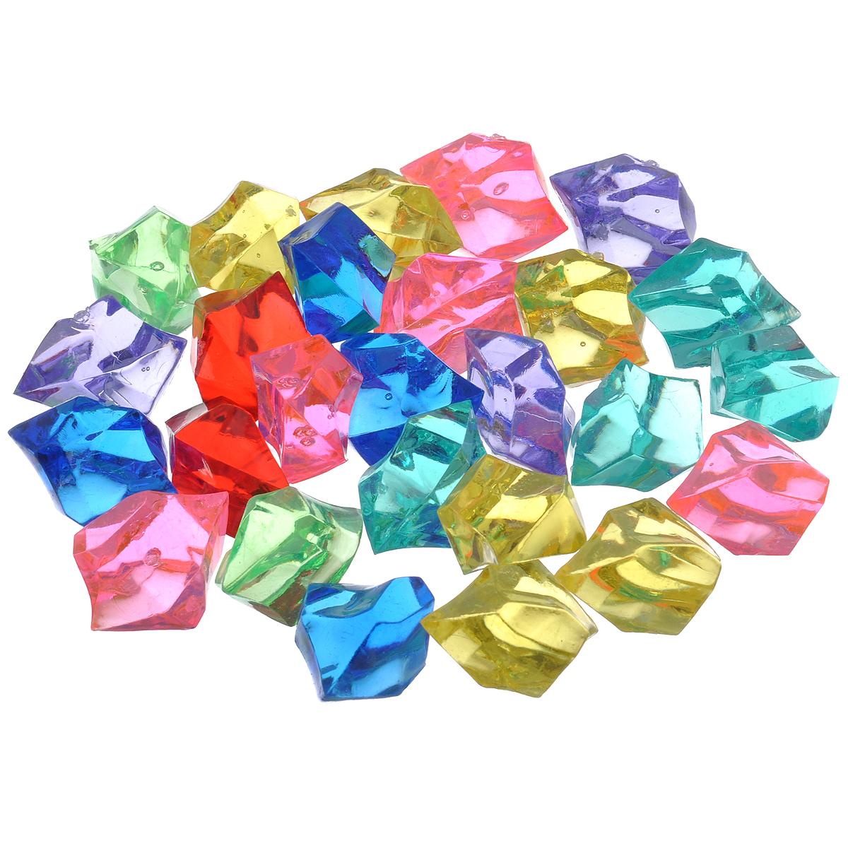 Набор декоративных кристаллов Большие камни. Ассорти, 70 гGA 1002Набор декоративных кристаллов Большие камни. Ассорти, выполненный из пластика, замечательно подойдет для украшения вашего дома. Его можно использовать для создания индивидуального интерьера, а так же как наполнитель декоративных ваз. Декоративные кристаллы создают чувство уюта и улучшают настроение. Вес упаковки: 70 г. Средний размер кристалла: 3,2 см х 2 см х 2,4 см.