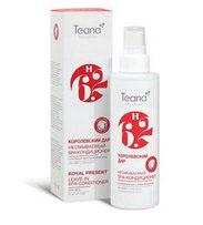 Teana Несмываемый СПА-кондиционер для волос с пчелиным маточным молочком Королевский дар. Н6.2, для всех типов волос, 125 млН6.2Регулярное использование кондиционера с пчелиным маточным молочком восстанавливает водный баланс кожи головы, защищает волосы от неблагоприятных факторов окружающей среды и механического повреждения при расчесывании, укрепляет волосяные луковицы и предупреждает выпадения волос. Благодаря специальному мелкодисперсному распылению волосы сохраняют лёгкость без потери объема