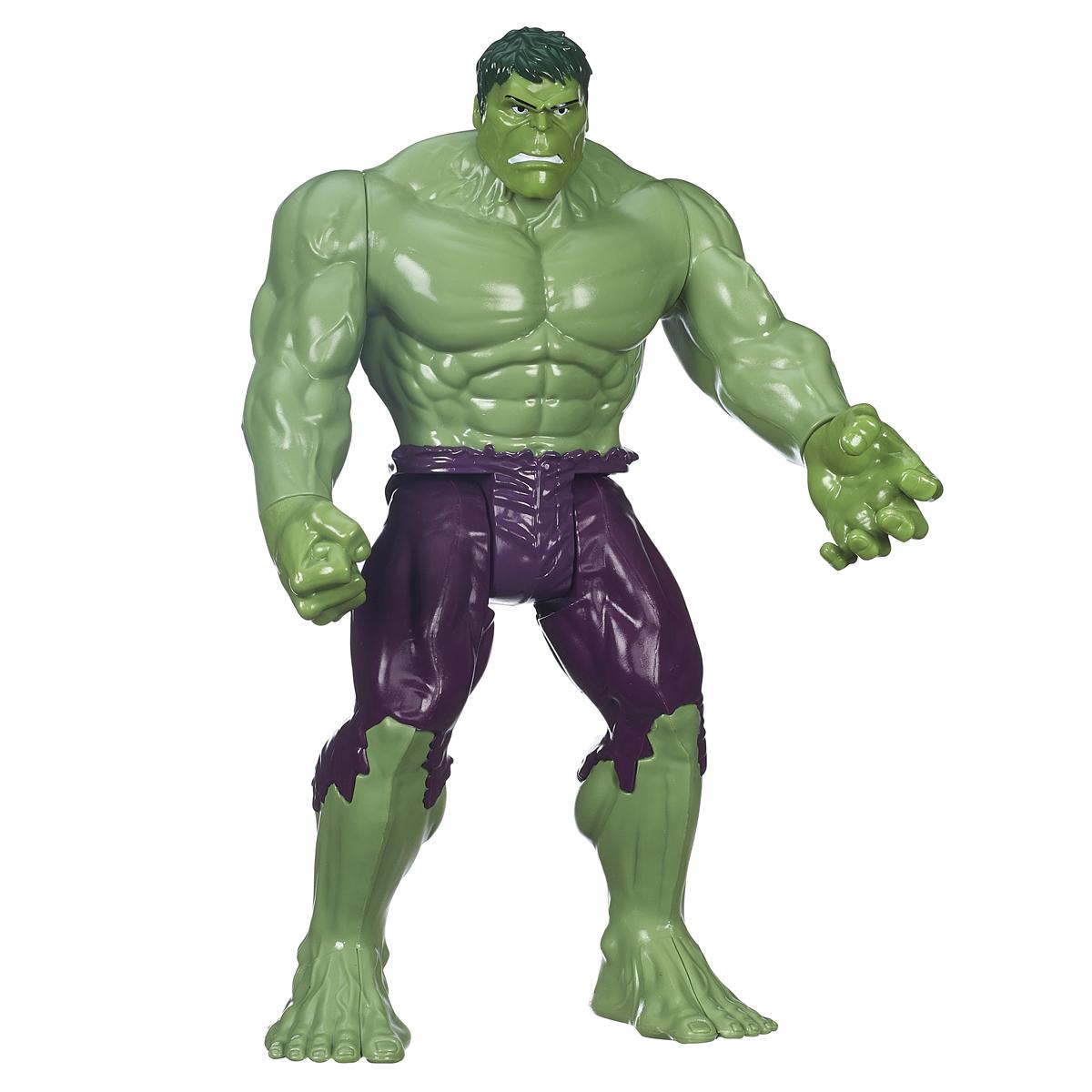 Фигурка Avengers Титаны. Халк, 29 смB5772EU4Фигурка Avengers Титаны. Халк порадует любого маленького поклонника знаменитой серии Мстители (Avengers). Она выполнена из прочного пластика в виде Халка - персонажа анимационного сериала про команду Мстителей. Фигурка имеет 7 точек артикуляции - голова, руки, кисти и ноги подвижны. Фигурка понравится как детям, так и взрослым коллекционерам, она станет отличным сувениром или займет достойное место в коллекции любого поклонника комиксов о непобедимых Мстителях.