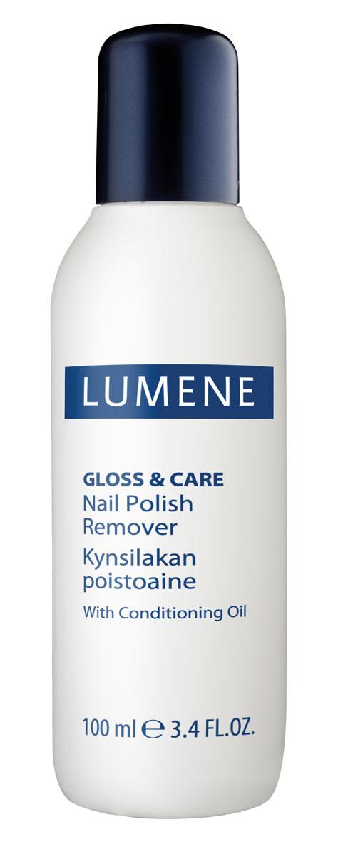LUMENE GlossCare жидкость для снятия лака c ухаживающими маслами, 100 мл