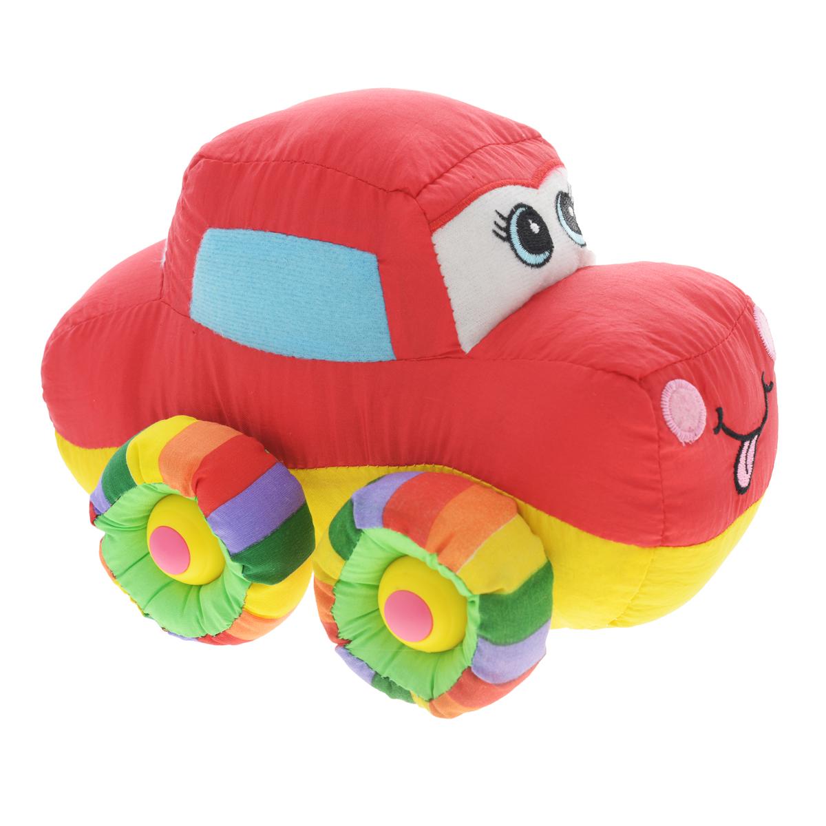 Мягкая озвученная игрушка Tongde Радужный транспорт. В72431В72431Мягкая озвученная игрушка Tongde Радужный транспорт непременно понравится вашему малышу! Эта милая мягкая машинка подарит вашему ребенку массу удовольствия за игрой. Изделие выполнено из высококачественного гипоаллергенного текстильного материала. Движение игрушки сопровождается звуковыми эффектами. С игрушкой можно играть как дома, так и в садике. Данная модель способствует развитию воображения и тактильной чувствительности у детей. Ваш ребенок часами будет играть с моделью, придумывая различные истории. Порадуйте его таким замечательным подарком! УВАЖАЕМЫЕ КЛИЕНТЫ! Обращаем ваше внимание на тот факт, что для работы игрушки необходимо докупить 3 батарейки типа АА 1,5V (в комплект не входят).