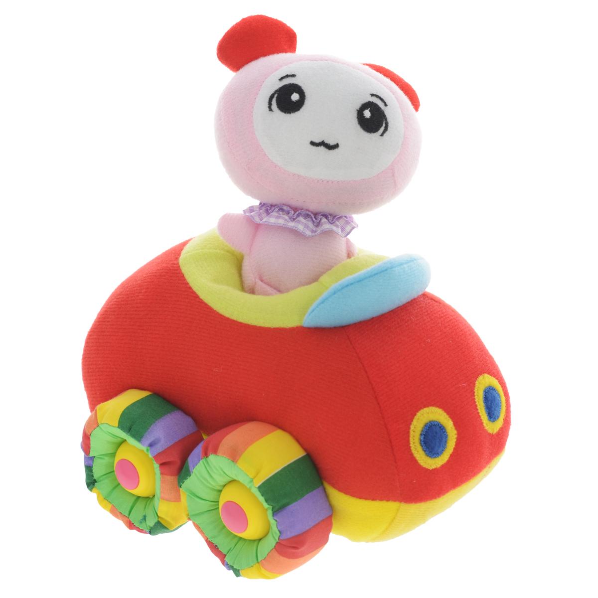 Мягкая озвученная игрушка Tongde Радужный транспорт, с фигуркой. В72425В72425Мягкая озвученная игрушка Tongde Радужный транспорт с фигуркой непременно понравится вашему малышу! Эта милая мягкая машинка подарит вашему ребенку массу удовольствия за игрой. В комплект также входит забавная мягкая фигурка, которую можно посадить в машинку. Изделие выполнено из высококачественного гипоаллергенного текстильного материала. Движение игрушки сопровождается звуковыми эффектами. С игрушкой можно играть как дома, так и в садике. Данная модель способствует развитию воображения и тактильной чувствительности у детей. Ваш ребенок часами будет играть с моделью, придумывая различные истории. Порадуйте его таким замечательным подарком! УВАЖАЕМЫЕ КЛИЕНТЫ! Обращаем ваше внимание на тот факт, что для работы игрушки необходимо докупить 3 батарейки типа АА 1,5V (в комплект не входят).