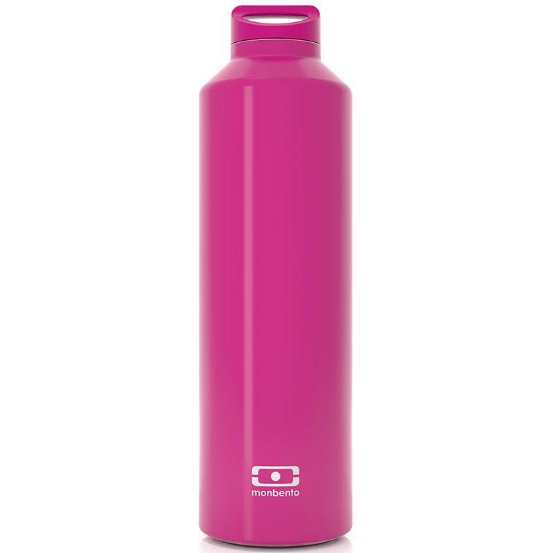 Бутылка MB Steel фуксия4011 01 066Бутылка с термоизоляцией для ежедневных и экстраординарных приключений! Она станет надежным компаньоном для бодрящего кофе, горячего чая или полезного смузи. Двойные стенки сохраняют напиток теплым (или холодным) до 12 часов, при этом внешние стенки не нагреваются, бутылку приятно держать в руках. Объем - 500 мл. Сделана из нержавеющей стали. В комплекте заварник для чая, который крепится к крышке и помещается прямо в бутылку. Бутылка герметична, не прольется ни капли. Изготовлена из безопасных материалов без примеси вредного бисфенола А (BPA free). Материал: нержавеющая сталь, полипропилен, цвет: розовый