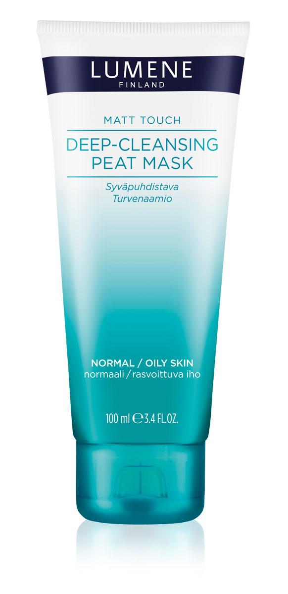LUMENE Глубоко очищающая маска на основе торфа Matt TouchNL50-81293MATT TOUCH DEEP-CLEANSING PEAT MASK ГЛУБОКО ОЧИЩАЮЩАЯ МАСКА НА ОСНОВЕ ТОРФА LUMENE MATT TOUCH Для комбинированной и жирной кожи Глубоко очищает, сужает поры и регулирует деятельность сальных желез. Укрепляет кожу, ускоряет процесс регенерации клеток, мягко отшелушивает. Освежает и улучшает цвет лица. Маска улучшает микроциркуляцию крови, способствует обновлению клеток.