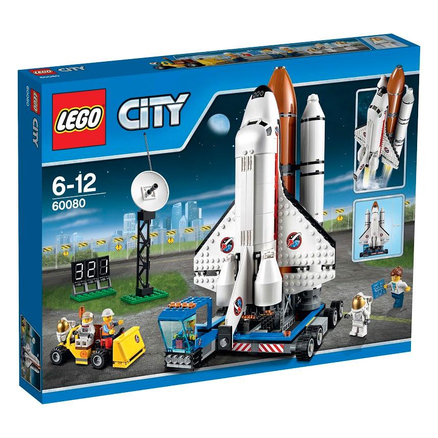LEGO City Конструктор Космодром 6008060080На космодроме Lego City день старта. Погрузи спутник в космический корабль и используй мощную мобильную пусковую установку, чтобы плавно вывести его на космодром. Доставь космонавтов на служебном автомобиле и пристегни их внутри ремнями безопасности. Обратный отсчет начинается: 3 ... 2 ... 1 ... пуск! Почувствуй мощь основных двигателей и направь шаттл в космос. Отдели внешний топливный бак и ракетные ускорители, а затем открой двери грузового отсека, чтобы запустить спутник! Еще одна успешная миссия на космодроме Lego City! Из деталей набора собираются: космический корабль, пусковая установка, спутник связи, мачта с антенной, таймер отсчета времени запуска, спутник и машина техобслуживания. На космодроме работает слаженная команда специалистов: техников, научных сотрудников и космонавтов. В набор входят 5 минифигурок с разнообразными аксессуарами: учёный, 2 техника и 2 космонавта. В процессе игры с конструкторами LEGO дети приобретают и постигают такие необходимые...