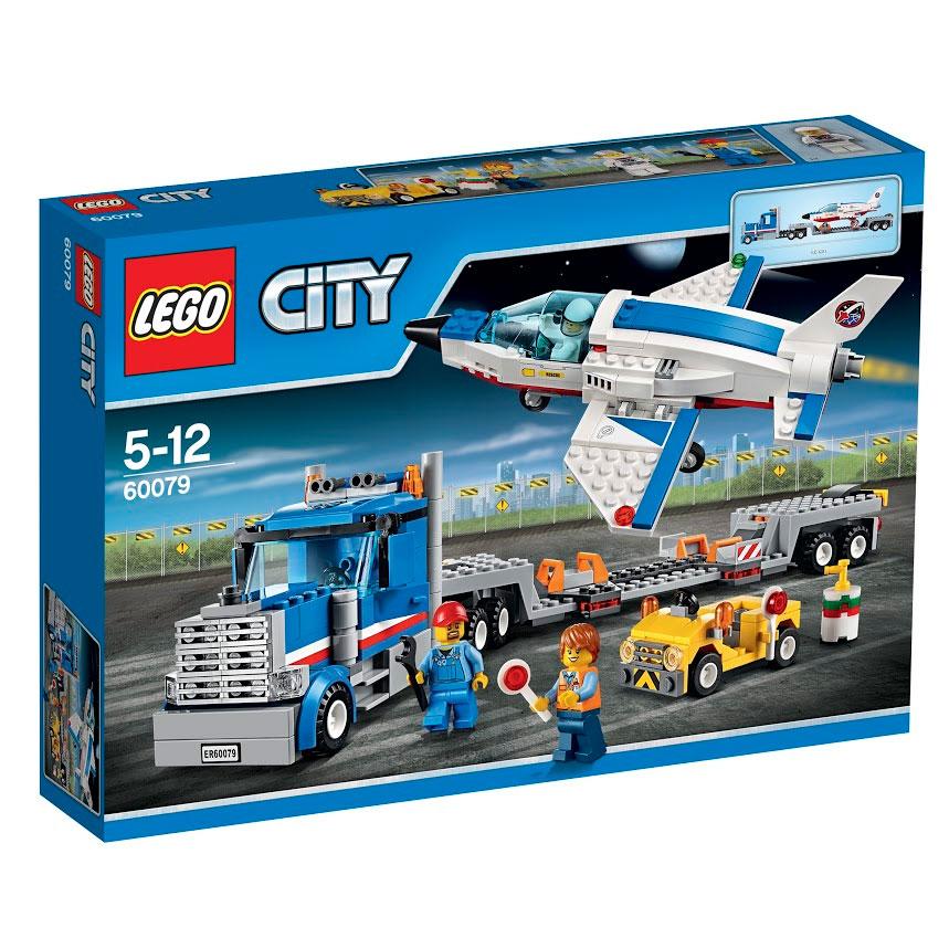 LEGO City Конструктор Транспортер для учебных самолетов 6007960079Присоединяйся к космической команде на борту учебного реактивного транспорта! Помоги выгрузить сверхзвуковой реактивный самолёт из огромного прицепа, разверни крылья, открой тонированную кабину и поднимайся на борт. Теперь запусти двигатели и следуй за служебным автомобилем на стартовую позицию. Получив разрешение на взлет, с громом разгоняйся по взлетно-посадочной полосе и взмывай в небо! Практикуйся в посадке и воздушных маневрах, пока не подготовишься к пилотированию космического шаттла! В набор входят 3 минифигурки с разнообразными аксессуарами: водитель, пилот и техник. В процессе игры с конструкторами LEGO дети приобретают и постигают такие необходимые навыки как познание, творчество, воображение. Обычные наблюдения за детьми показывают, что единственное, чему они с удовольствием посвящают время, - это игры. Игра - это состояние души, это веселый опыт познания реальности. Играя, дети создают собственные миры, осваивают их, восстанавливают прошедшие и будущие...