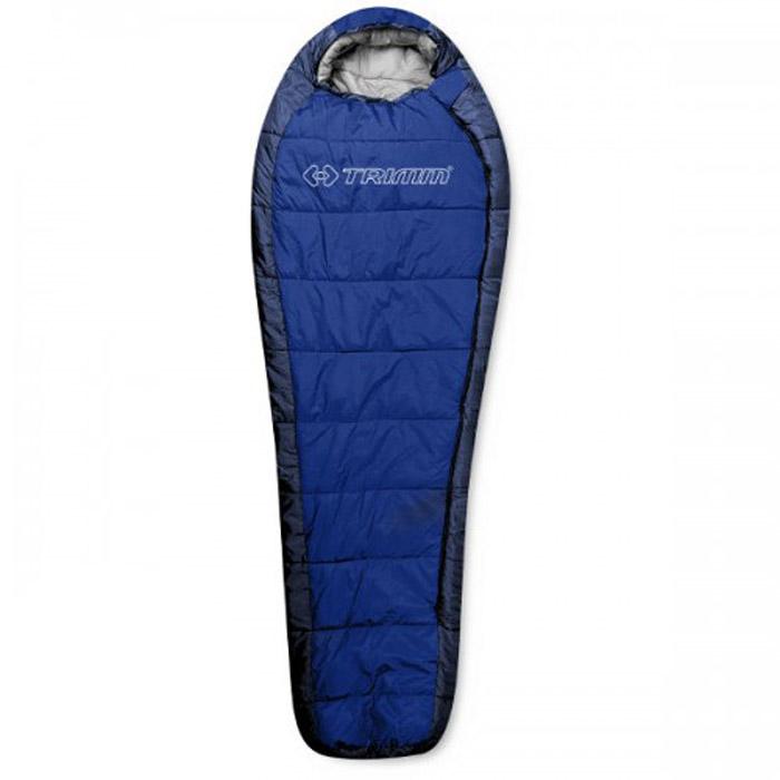 Спальный мешок Trimm Highlander, правосторонняя молния, цвет: синийR36964Спальный мешок Trimm HIGHLANDER - традиционный вариант спальника-кокона. Эта модель подходит для использования осенью и весной, и будет отличным выбором для всех людей, предпочитающих активный отдых на природе. Производителем Trimm спальный мешок HIGHLANDER относится к серии Trekking, которая рекомендуется для условий с умеренно низкими температурами. Модель может быть использована в парном соединении, что поможет образовать двуспальный мешок. Спальник сертифицирован и согласно стандарту EN 13537 с комфортом может применяться при температуре окружающей среды до 3 градусов ниже нуля, однако, по заявлению фирмы-производителя, спальник может использоваться и в морозы до минус 20, правда, комфортным сон будет всего лишь на протяжении 6 часов. Спальный мешок Trimm HIGHLANDER можно сложить в сумку и после этого его размер станет минимальным (18 см х 34 см х 24 см). В раскрытом состоянии его габариты следующие: длина - 230 см, ширина - 58/85 см...