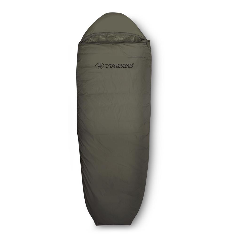 Спальный мешок Trimm Scout, правосторонняя молния, цвет: хакиR36966Trimm Scout - бюджетный вариант спального мешка в форме кокона. Эта модель предназначена для теплого времени года и пригодится любителям активного отдыха. Спальный мешок Trimm Scout принадлежит к серии Lite, в которую входят модели для летнего отдыха, но могут применяться весной и осенью при небольших похолоданиях. Отличительной чертой является наличие капюшона с москитной сеткой, полностью изолирующей от насекомых. Модель сертифицирована и согласно стандарту EN 13537 может использоваться при 11 градусах мороза, но для комфорта туриста все-таки рекомендуется пользоваться спальником при температуре окружающей среды до 3 градусов тепла. Модель Trimm Scout легко укладывается в походный, компрессионный мешок, после чего его объем уменьшается, а это позволит без труда найти для него место хоть на багажнике велосипеда, хоть в рюкзаке. В рабочем состоянии размеры спального места составляют: длина - 235 см, ширина - 35/85 см (снизу вверх), что дает возможность разместиться в...