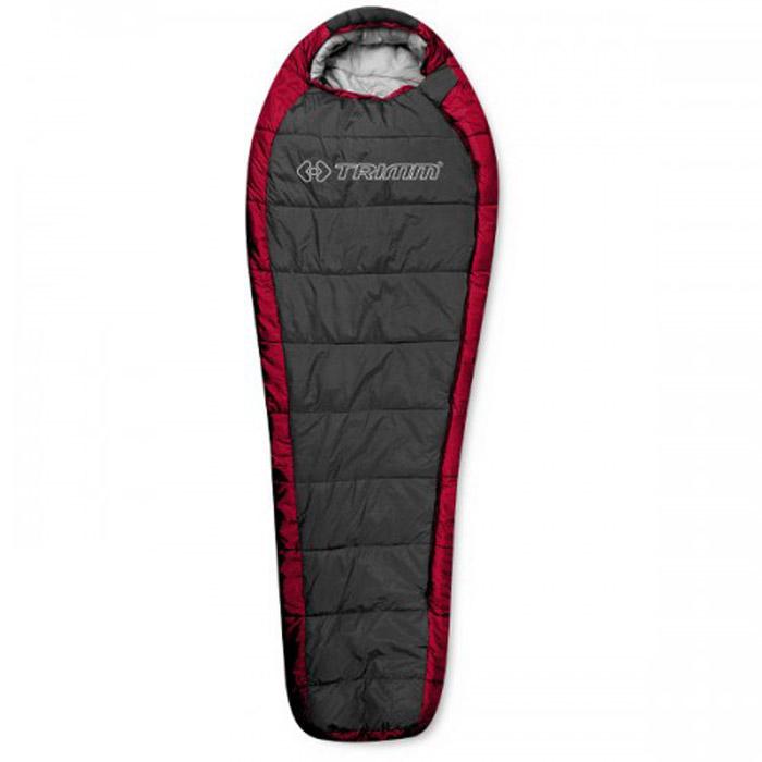 Спальный мешок Trimm Highlander, правосторонняя молния, цвет: красныйR36962Спальный мешок Trimm HIGHLANDER - традиционный вариант спальника-кокона. Эта модель подходит для использования осенью и весной, и будет отличным выбором для всех людей, предпочитающих активный отдых на природе. Производителем Trimm спальный мешок HIGHLANDER относится к серии Trekking, которая рекомендуется для условий с умеренно низкими температурами. Модель может быть использована в парном соединении, что поможет образовать двуспальный мешок. Спальник сертифицирован и согласно стандарту EN 13537 с комфортом может применяться при температуре окружающей среды до 3 градусов ниже нуля, однако, по заявлению фирмы-производителя, спальник может использоваться и в морозы до минус 20, правда, комфортным сон будет всего лишь на протяжении 6 часов. Спальный мешок Trimm HIGHLANDER можно сложить в сумку и после этого его размер станет минимальным (18 см х 34 см х 24 см). В раскрытом состоянии его габариты следующие: длина - 230 см, ширина - 58/85 см...