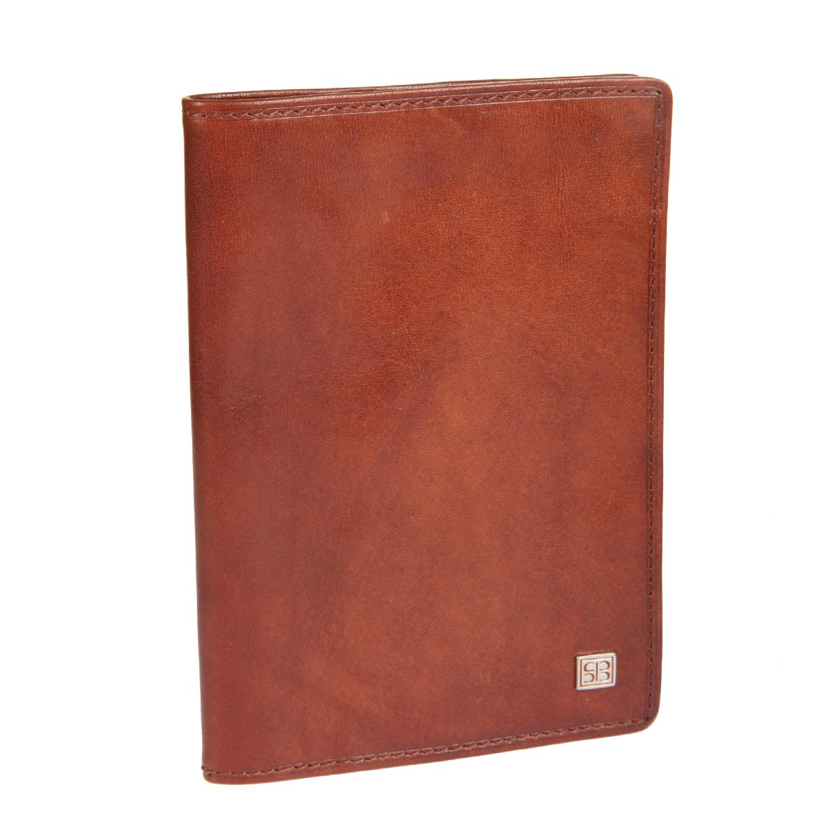 Обложка для паспорта Sergio Belotti, цвет: коричневый. 24642464 oro brownСтильная обложка для паспорта Sergio Belotti выполнена из натуральной высококачественной кожи и оформлена на лицевой стороне небольшой металлической пластиной с гравировкой в виде логотипа бренда. Изделие раскладывается пополам. Внутри - сетчатый карман, кармашек-уголок и два накладных кармана (один из них для sim-карты). Изделие упаковано в фирменную коробку. Такая обложка для паспорта станет отличным подарком для человека, ценящего качественные и стильные вещи.