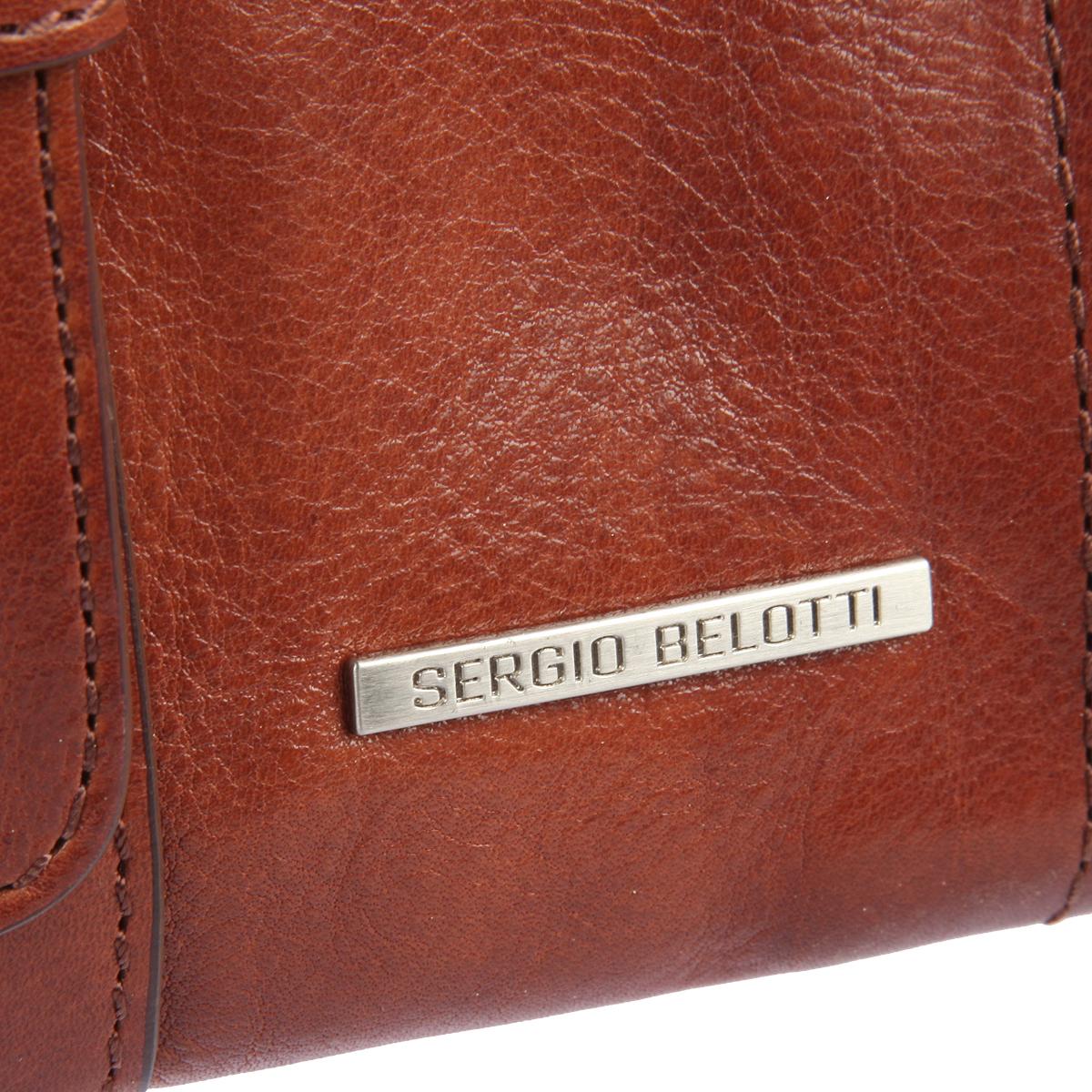 Планшет мужской Sergio Belotti, цвет: коричневый. 9279 oro brown