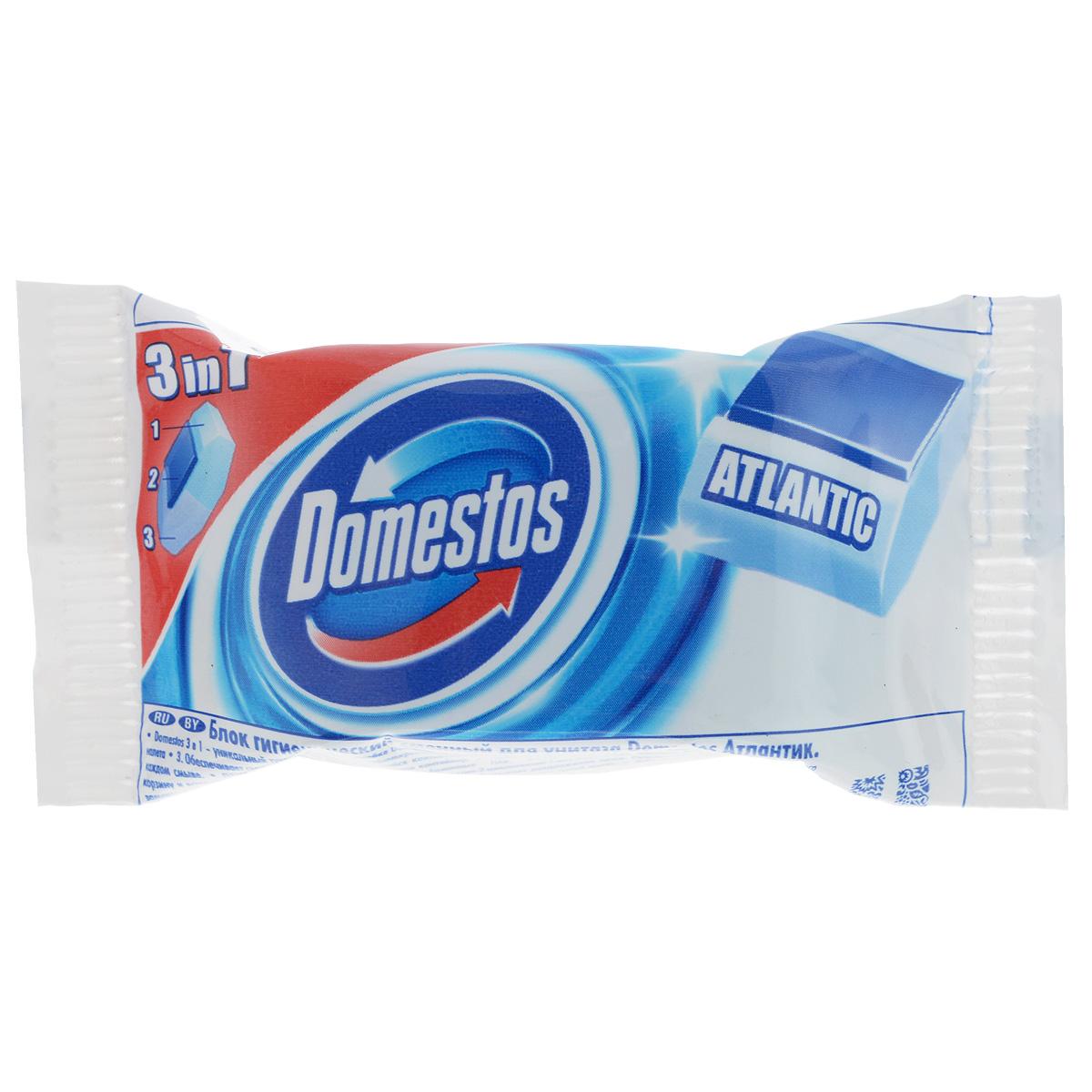Domestos Блок для унитаза Atlantic 40 гр65413744/8384360Сменный гигиенический блок для унитаза Domestos Атлантик - оптимальное решение для обеспечения не только чистоты и гигиены, но и свежести в вашем туалете. Domestos устраняет источник бактерий, предотвращает появление известкового налета, обеспечивает свежий аромат благодаря парфюмированной гелевой полосе. Обеспечит гигиену в туалете при каждом смыве. Легко заменяется. Состав: более 30% анионные ПАВ, 5-15% отдушка, менее 5%: ароматические углеводороды, 2-(4-третбутилбензил) пропиональдегид, фосфаты, 3-Метил-4-(2,6,6-триметил-2-циклогексен-1-ил)-3-бутен-2-он, лимонен, бензиновый спирт, гексилциннамаль, линалоол, цитронеллол. Товар сертифицирован.
