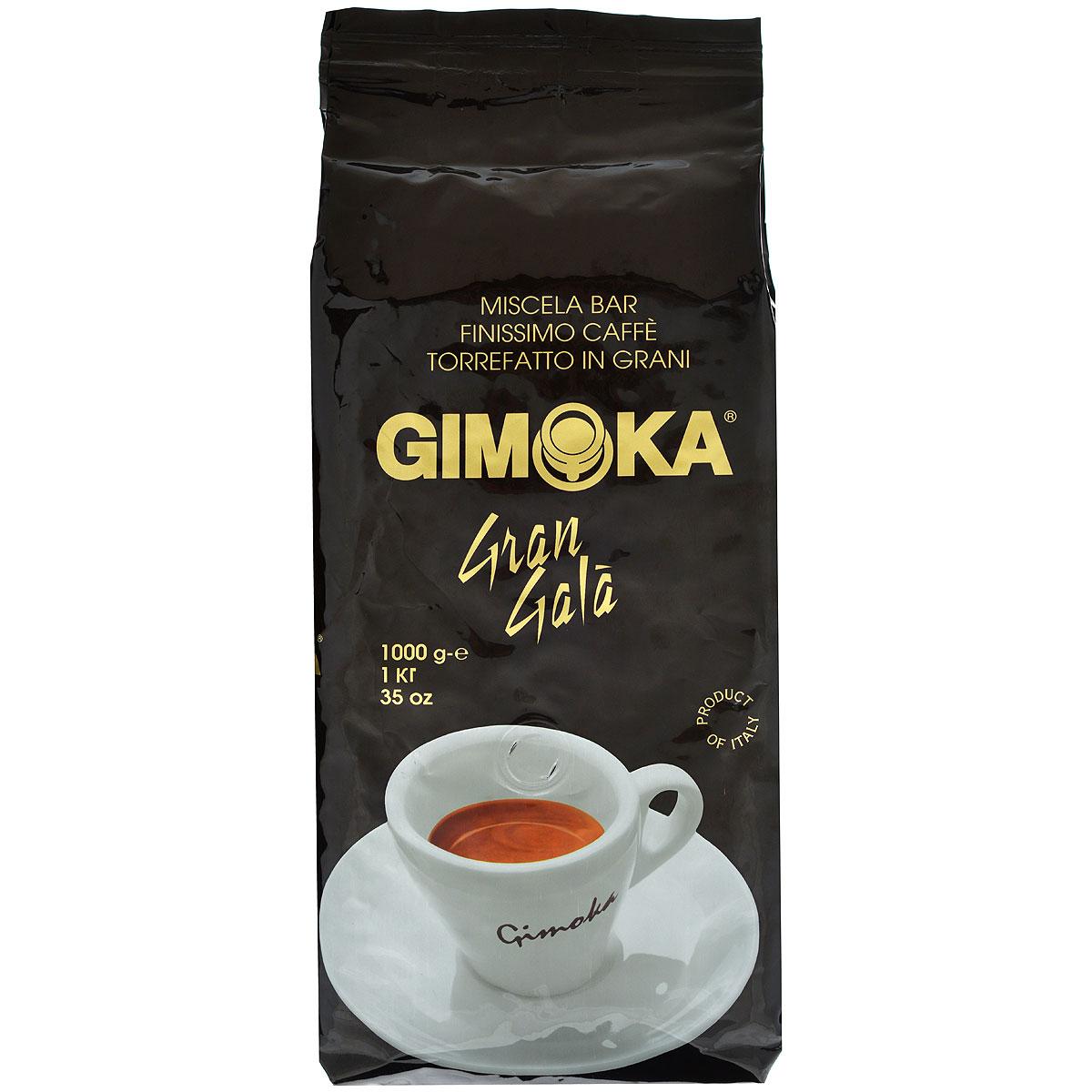 Gimoka Nero Gran Gala кофе в зернах, 1 кг8003012100005Натуральный жареный кофе в зернах Gimoka Nero Gran Gala. Деликатная кофейная смесь Арабики для самых взыскательных гурманов. Обладает мягким ароматом и нежным бархатным вкусом. Состав смеси: 90% арабика, 10% робуста.