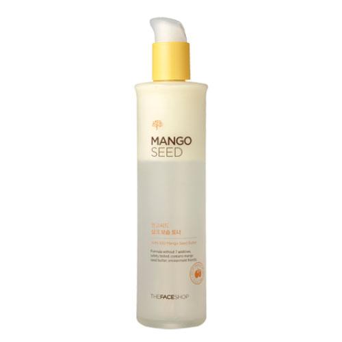 The Face Shop тоник для лица Mango Seed Silk Moisturizing Skin, 145 млУТ000001171Двухфазный увлажняющий тоник для лица с маслом семян манго и экстрактами натурального шёлка. Этот тонер сделает Вашу кожу гладкой и здоровой, напитает глубокие слои кожи живительной влагой, восстановит здоровый цвет лица. Особенно подойдёт для обладательниц сухой кожи. Экстракт Манго получают из плодов мангового дерева, богат углеводами, протеинами, витаминами А, В, С, Е. Экстракт Манго питает, увлажняет кожу, оказывает регенерирующее действие.