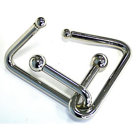 Головоломка Гвозди Гигант 1 ЭВРИКА90292Нет неразрешимых задач, есть непростые решения! Головоломка серии Гвозди ГИГАНТ изготовлена из никелированного металла и упакована в картонную кор